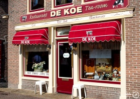Tea room in Edam