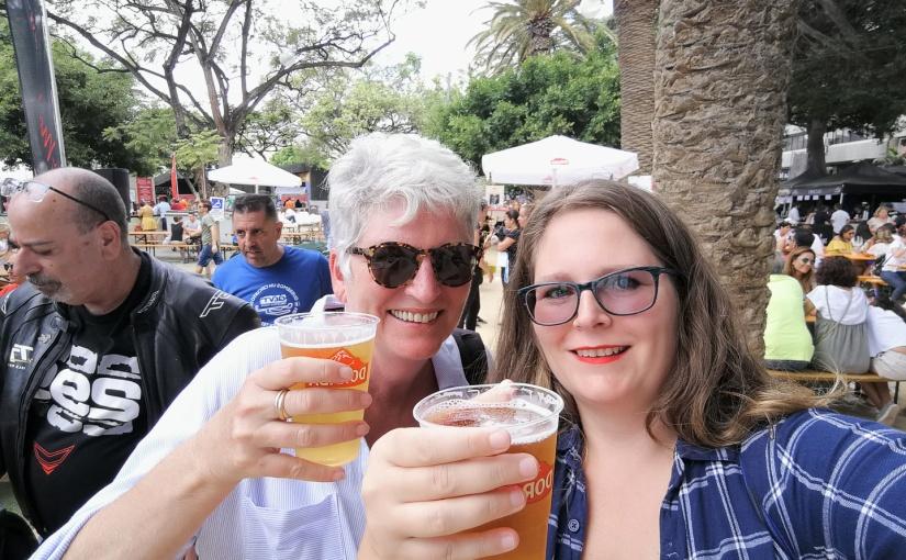 Motorbikes and beer – a perfect day in Santa Cruz deTenerife