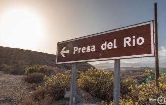 Signpost of the Presa del Rio